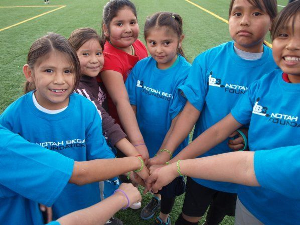 Notah Begay III Foundation Native American Kids Rescue Youth