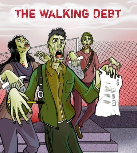 The Walking Debt The Student Loan Problem