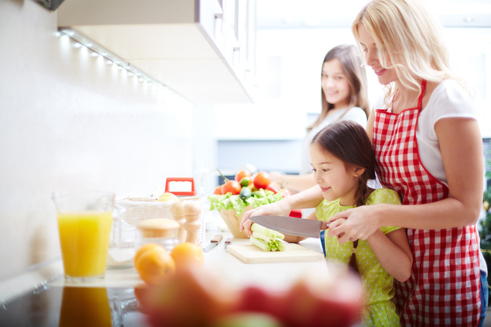 Get Kids Into the Kitchen